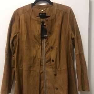 Massimo Dutti Jackets & Coats - Brand New Suede Long Jacket